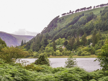 Lower Lake in Glendalough, Ireland